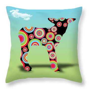 Count Me In  Throw Pillow by Mark Ashkenazi