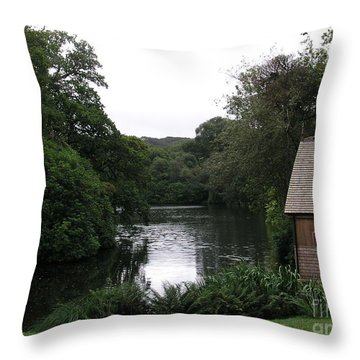 Country Estate Throw Pillow by Bev Conover