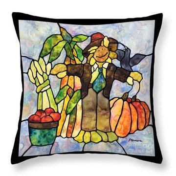 Country Fall Throw Pillow
