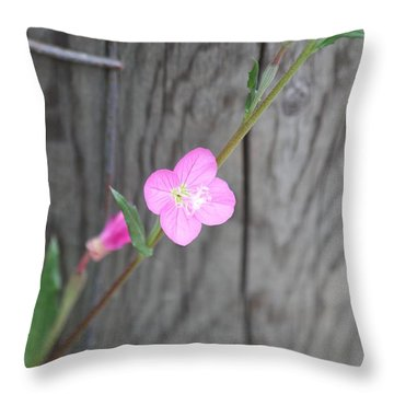 Country Flower  Throw Pillow