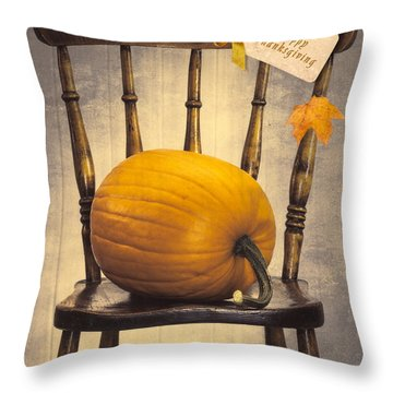 Country House Chair Throw Pillow by Amanda Elwell