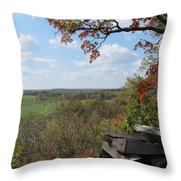 Country Life All Profits Go To Hospice Of The Calumet Area Throw Pillow