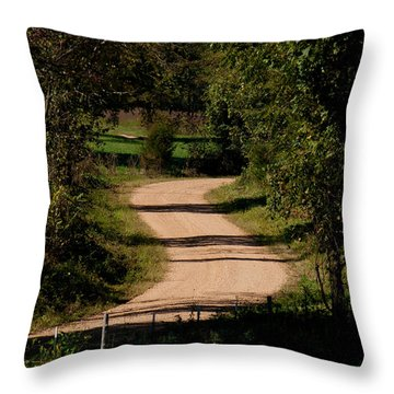 Country S Curve Throw Pillow