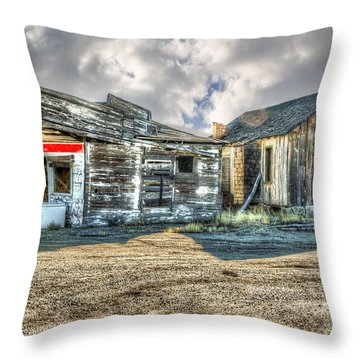 Country Stand Throw Pillow by Mary Timman