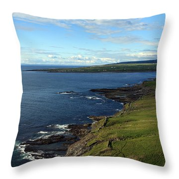 County Clare Coast Throw Pillow