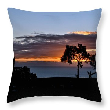 Throw Pillow featuring the photograph Couple by Michael Gordon