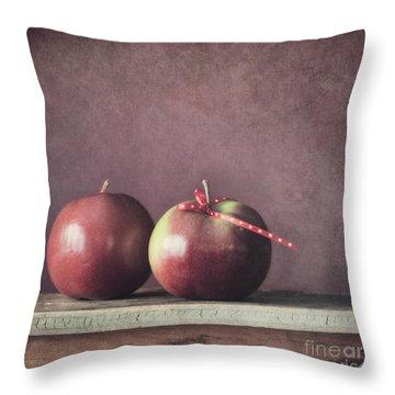 Couple Throw Pillow by Priska Wettstein