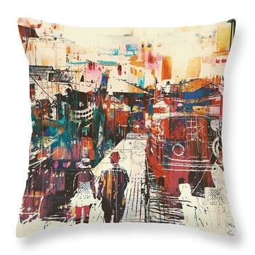 Harbor Throw Pillows