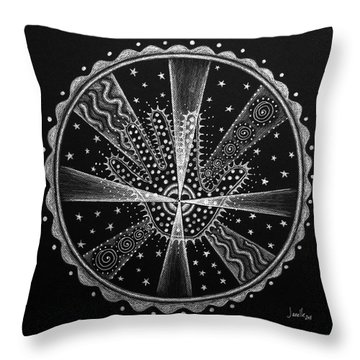 Courage And Strength Throw Pillow