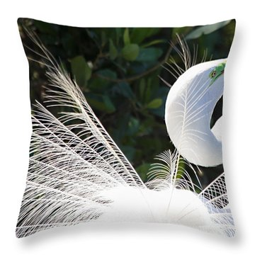 Courting Dance Throw Pillow