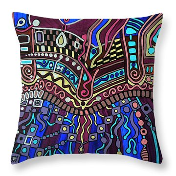 Couture Throw Pillow by Barbara St Jean