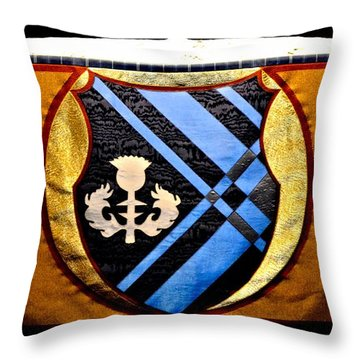Covenant College Tartan Throw Pillow by Tara Potts