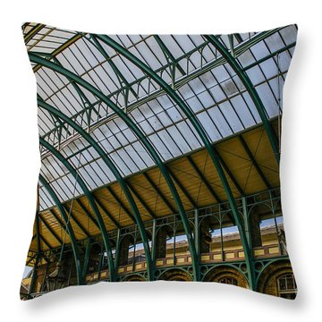 Covent Garden Market Throw Pillow