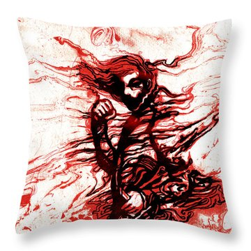 Cover For The Autumn Throw Pillow