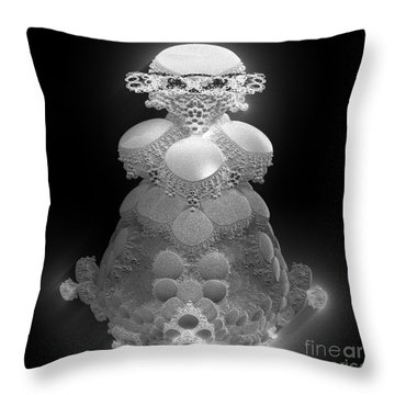 Cover Of Beauty Throw Pillow by Peter R Nicholls