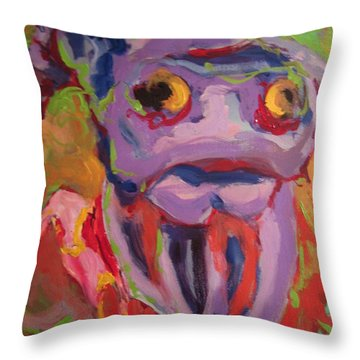 Cow 287 Throw Pillow