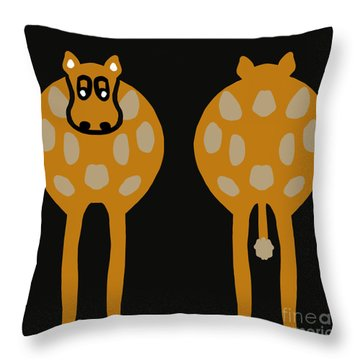 Cow - Both Ends Throw Pillow