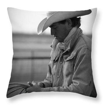 Cowboy Signature 10 Throw Pillow