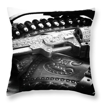 Cowboy Way Throw Pillow