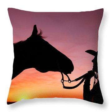 Cowgirl Throw Pillows