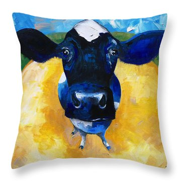 Cowtale Throw Pillow
