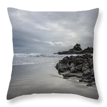 Cox Bay Afternoon  Throw Pillow