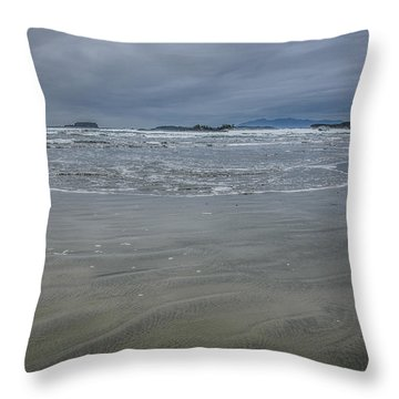 Cox Bay Late Afternoon  Throw Pillow