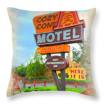 Cozy Cone Throw Pillow