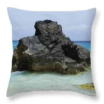 Cozy Cove Throw Pillow by Luke Moore