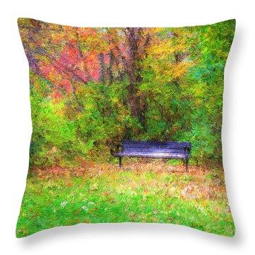 Cozy Little Nook Throw Pillow