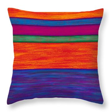 Cp024 Throw Pillow by David K Small