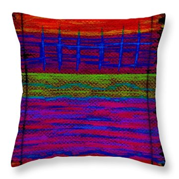 Cp025 Throw Pillow by David K Small