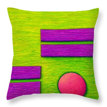 Cp034 Throw Pillow by David K Small
