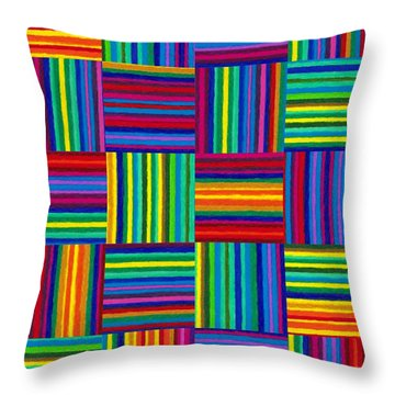 Cp038 Rotated Throw Pillow by David K Small