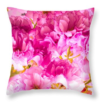 Crabapple Impressions 2 Throw Pillow