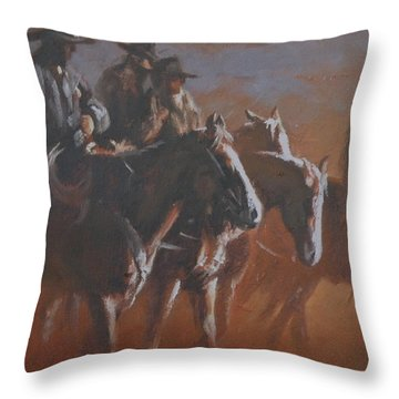 Crack Of Dawn Throw Pillow by Mia DeLode