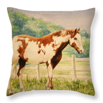 Cracker Throw Pillow