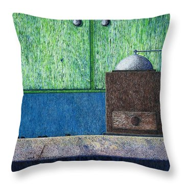 Crafting Creation Throw Pillow by A  Robert Malcom
