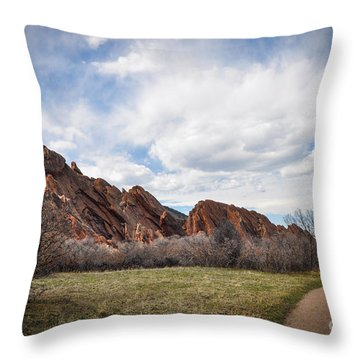 Craggy Wonder Throw Pillow