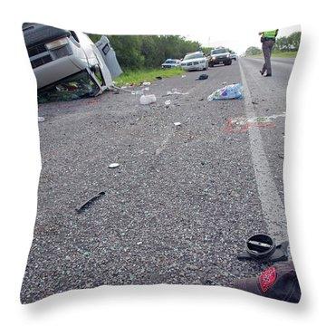 Patrol Car Throw Pillows