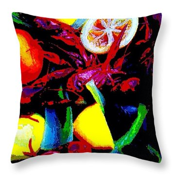 Craw Daddies  Throw Pillow