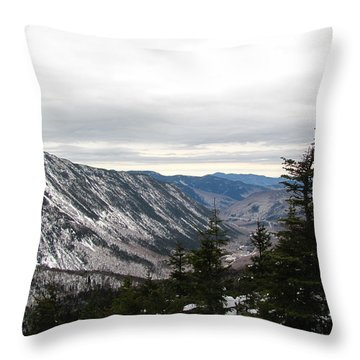 Crawford Notch Throw Pillow