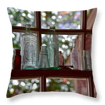 Crawford's Window Throw Pillow