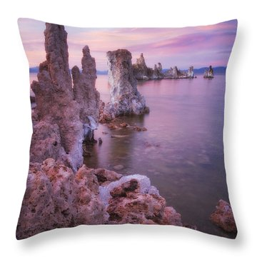 Crayola Funhouse Throw Pillow by Peter Coskun
