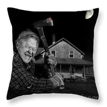 Axeman Throw Pillows