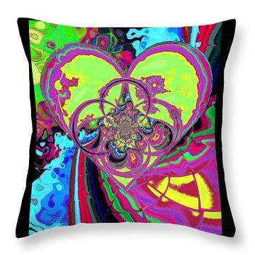 Crazy Love Throw Pillow