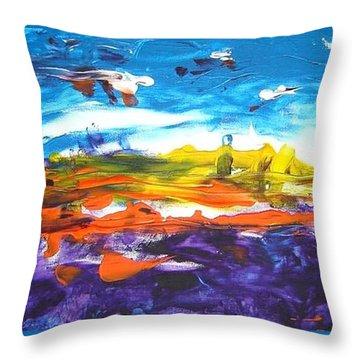 Creation I Throw Pillow