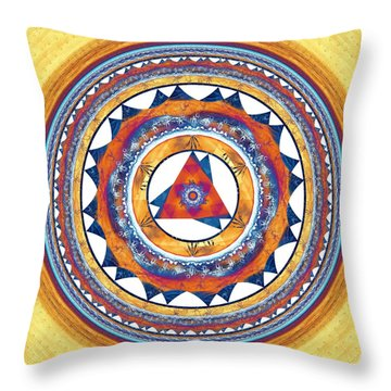 Creative Energy Throw Pillow