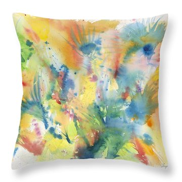 Creative Expression Throw Pillow