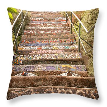Creative Steps Throw Pillow